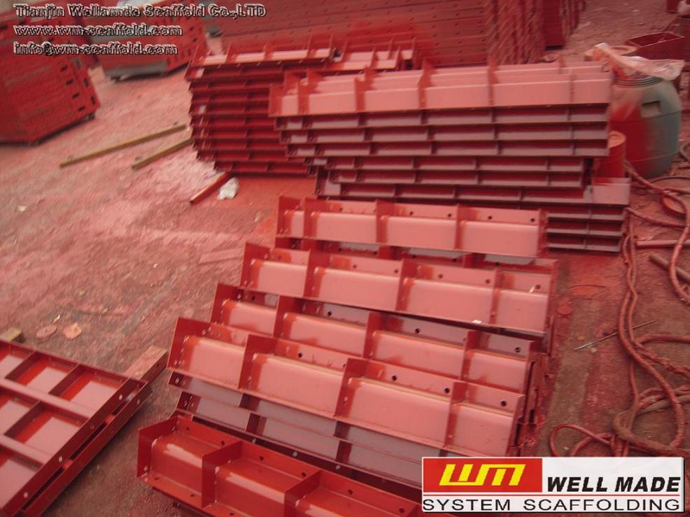 Formwork Flat Form-Steel Panel-Steel Metal Form-Flat Panel,Formwork
