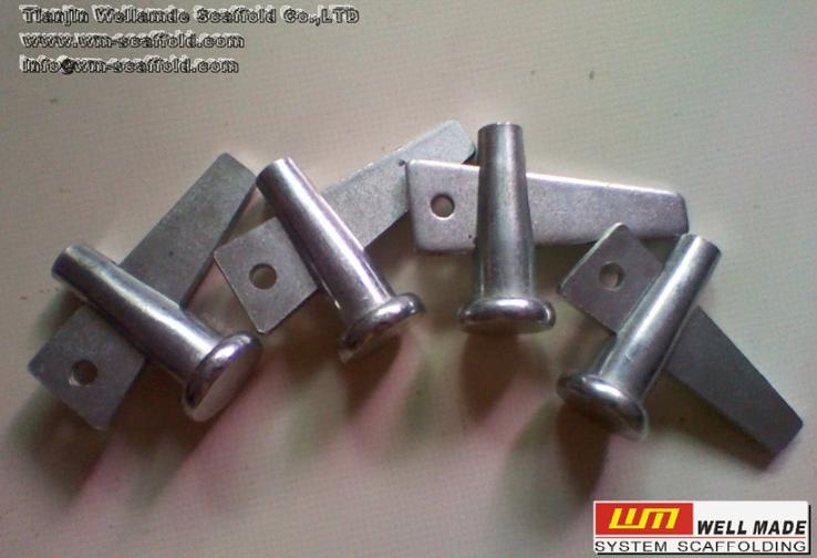 Wedge Aluminum Scaffold : Formwork wedge pin connect