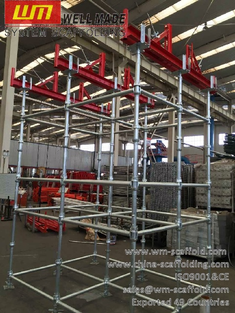 Scaffolding Steel Suppliers : Construction frames metal forms cup lock scaffolding