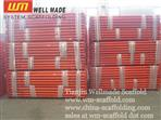 Construction Adjustable Scaffolding Jack  Slab Formwork Pipe Vertical