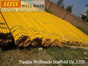 Construction Steel Tube Scaffolding GI Pipes