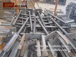 Concrete formwork Slab Support Adjustable Forkhead