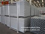 Galvanized Cuplock Scaffolding Ledgers with Forged Ledger Blade