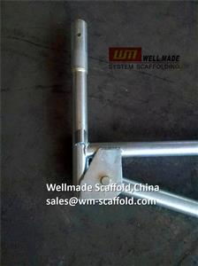 Wellmade's PCH Formwork Speed Shore System Scaffold Cantilever