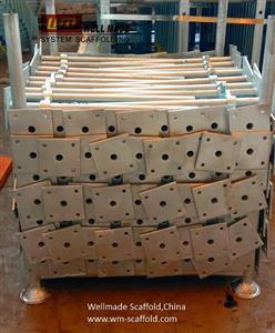 Hot dip galvanized Adjustable Scaffolding Jack Base - Screw Jack Level